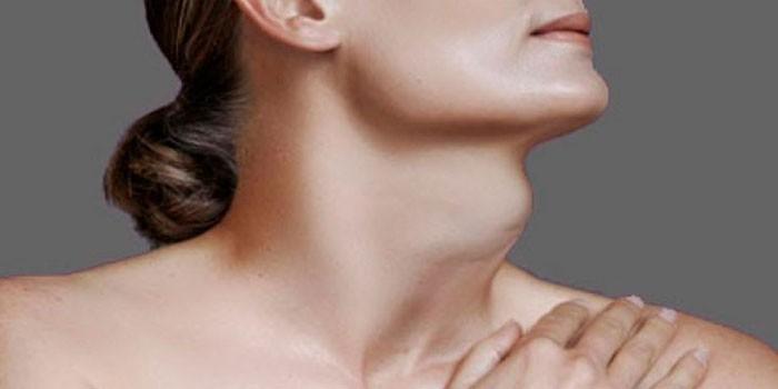 Диффузное увеличение щитовидной железы