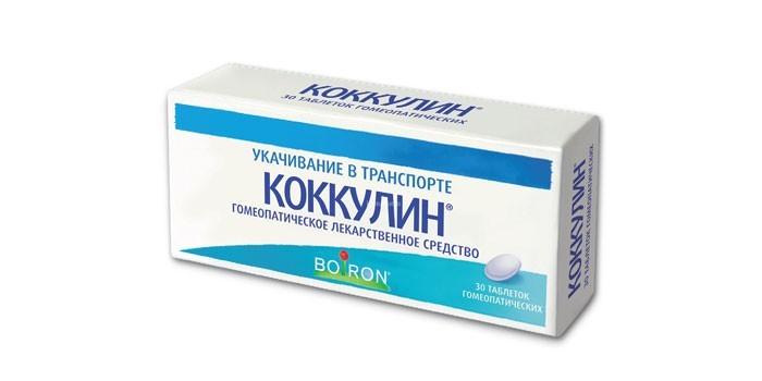 Гомеопатическое средство Коккулин