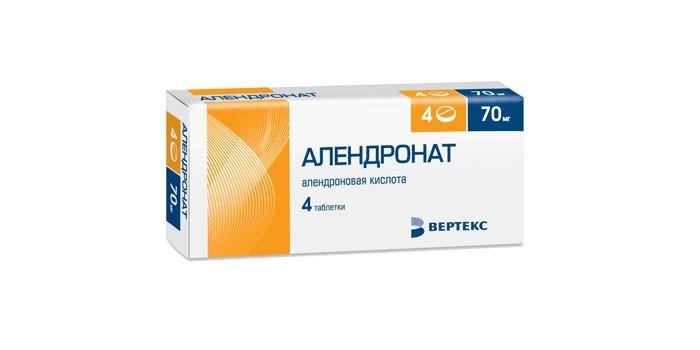 Таблетки Алендронат