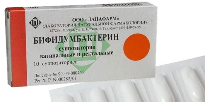 Вагинальные суппозитории Бифидумбактерин