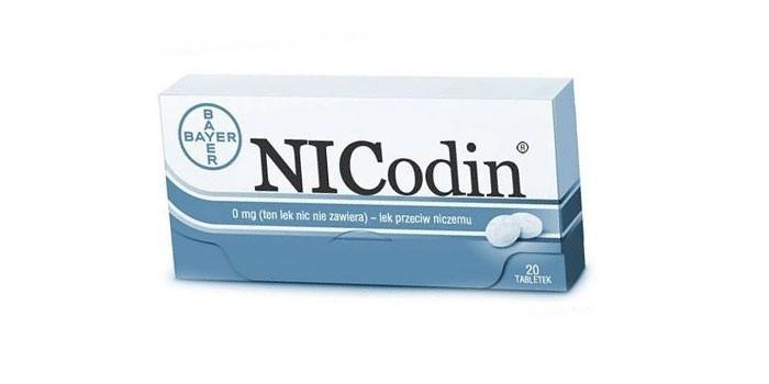 Таблетки Никодин