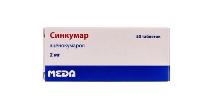 Препарат Синкумар