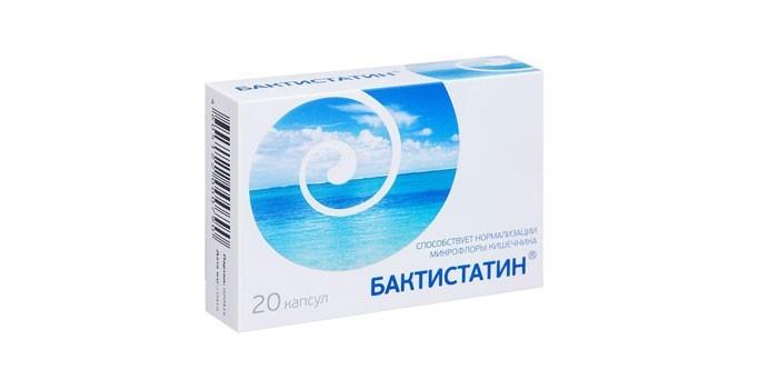 Таблетки Бактистатин
