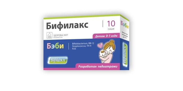 Препарат Бифилакс Бэби