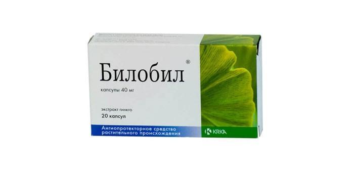 Лекарство Билобил