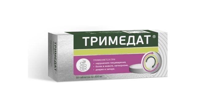 Таблетки Тримедат
