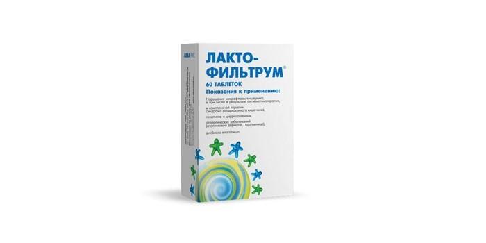 Таблетки Лактофильтрум