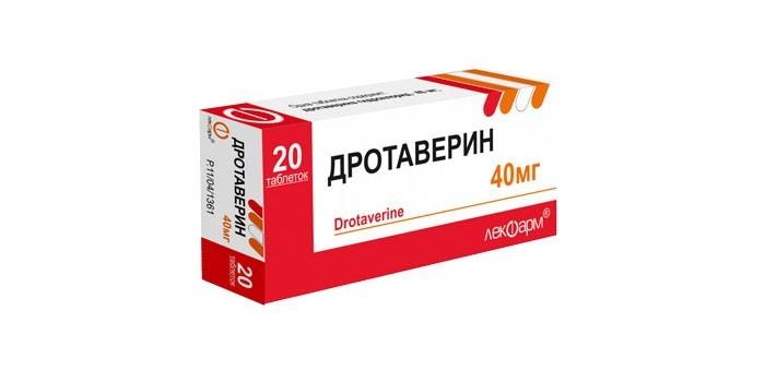 Таблетки Дротаверин