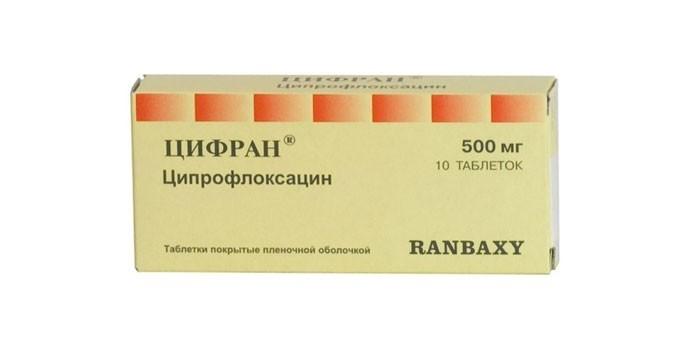 Таблетки Цифран