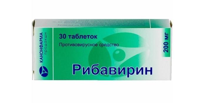 Таблетки Рибавирин
