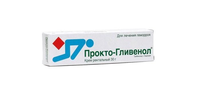 Крем Прокто-Гливенол