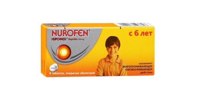 Детские таблетки Нурофен