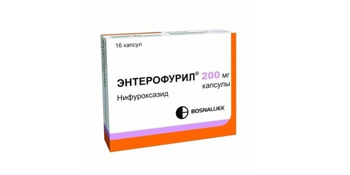 Таблетки Энтерофурил