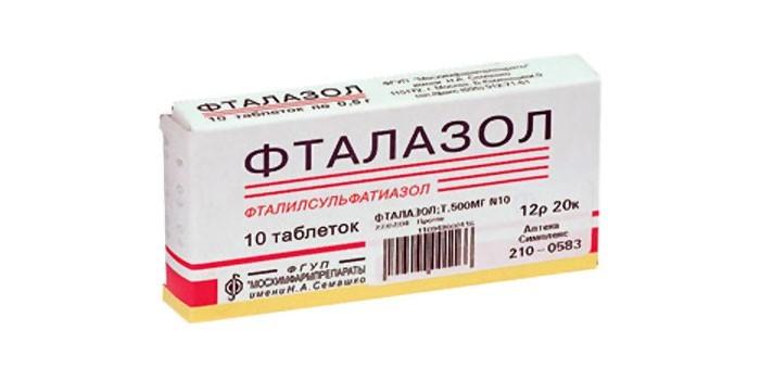 Таблетки Фталазол