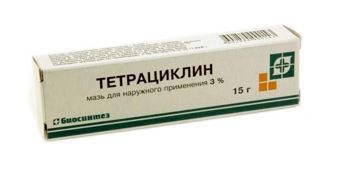 Тетрациклин от угрей