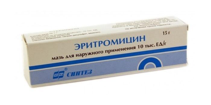 Эритромицин от воспалений