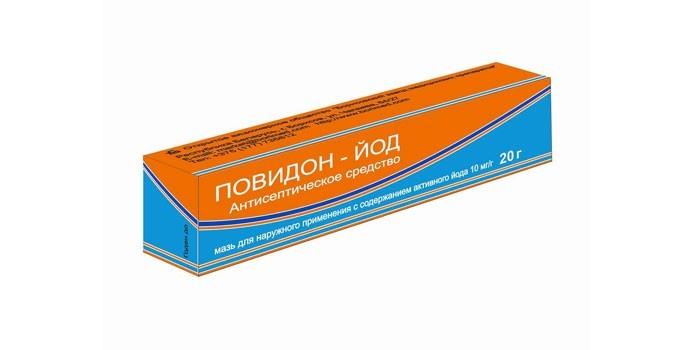 Антисептическое средство Повидон-йод