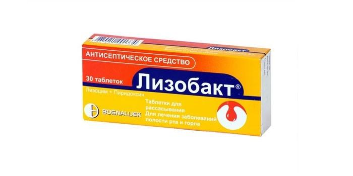 Антисептическое средство Лизобакт