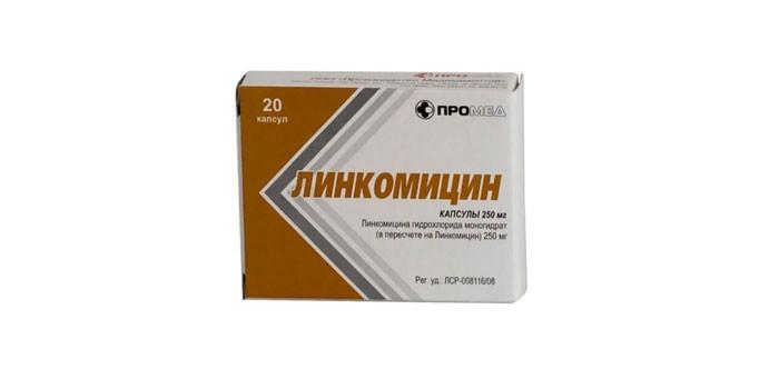 Капсулы Линкомицин