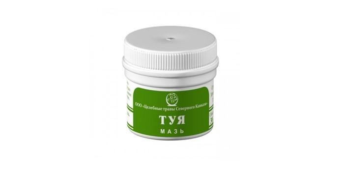 Гомеопатическое средство Туя