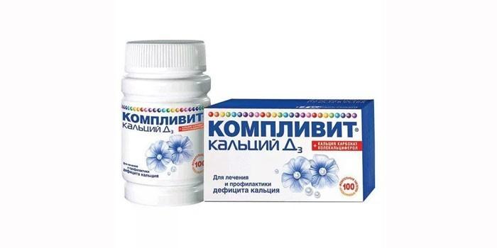 Витаминный комплекс Кальций Д3