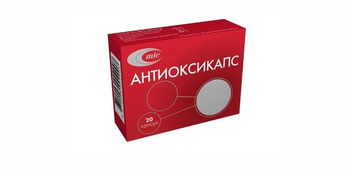 Упаковка Антиоксикапс