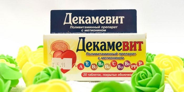 Поливитаминный препарат Декамевит