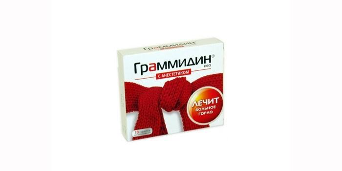 Таблетки Граммидин С