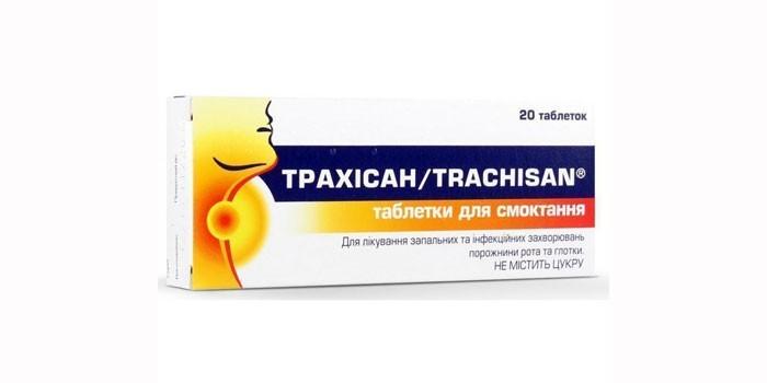 Таблетки Трахисан