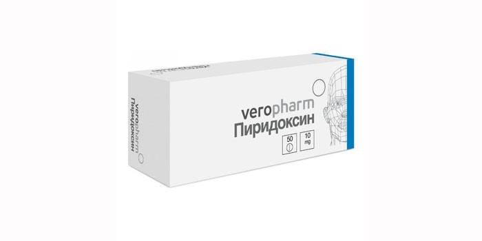 Таблетки Пиридоксин