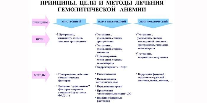 Принципы, цели и методы лечения
