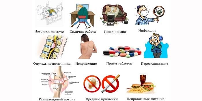 Факторы развития дорсопатии