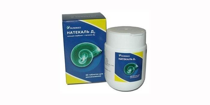 Таблетки Натекаль Д3