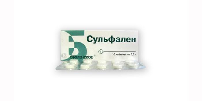 Лекарственное средство Сульфален