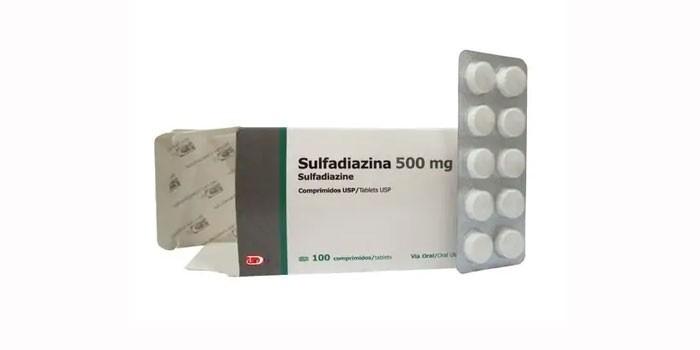 Препарат Сульфадиазин