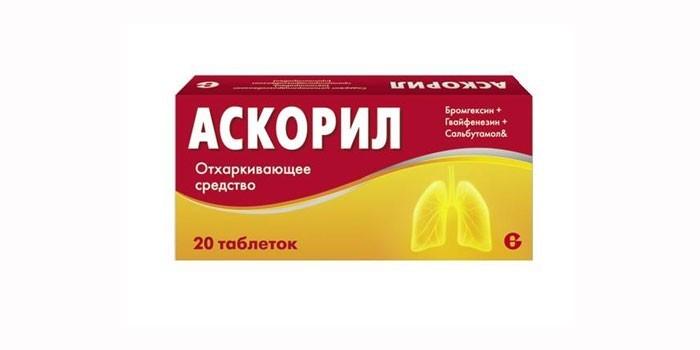Отхаркивающий препарат Аскорил