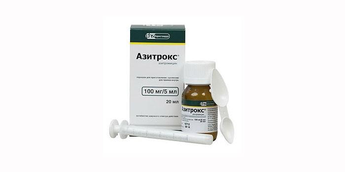 Сироп Азитрокс