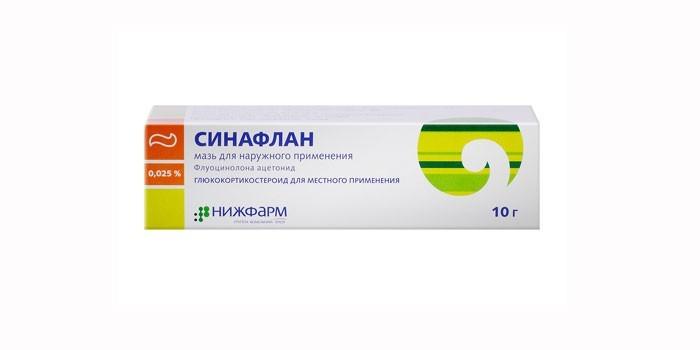 Гормональное средство Синафлан