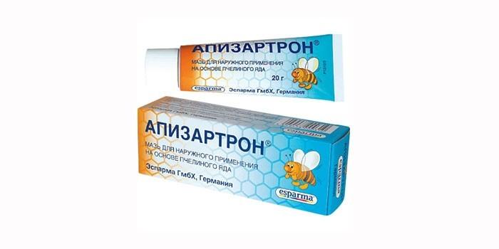 Препарат Апизартрон на основе пчелиного яда