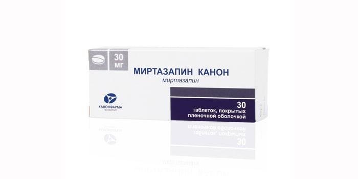 Таблетки Миртазапин