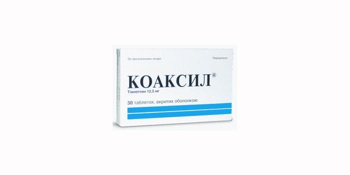 Таблетки Коаксил