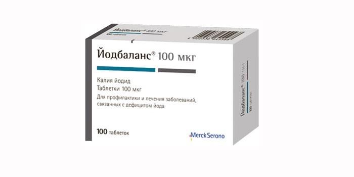 Таблетки Йодбаланс