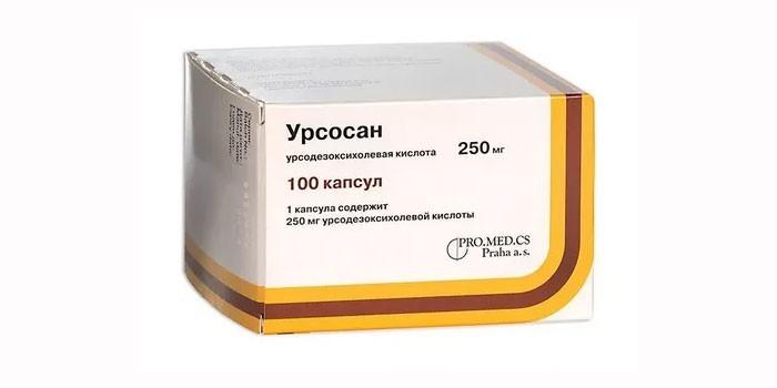 Таблетки Урcосан