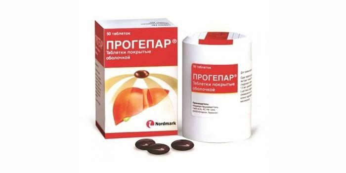 Гепатопротектор Прогепар