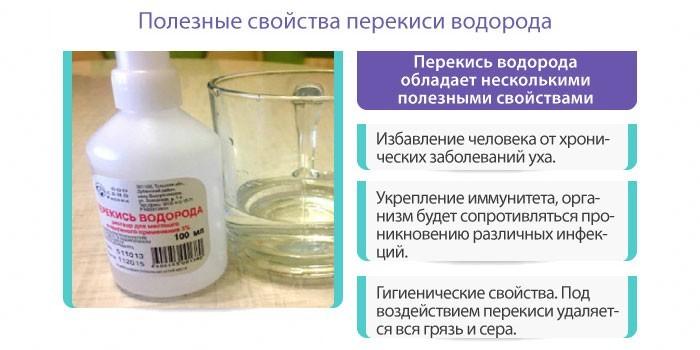 Полезные свойства перекиси водорода