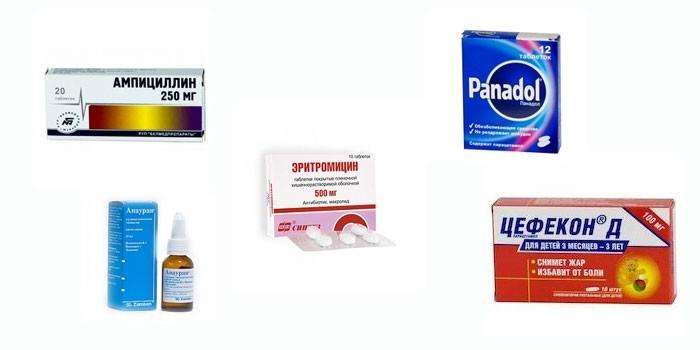 Препараты для лечения отита