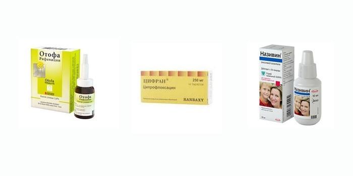 Лекарства для лечения отита