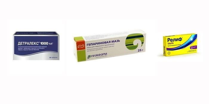 Лекарства для лечения отека