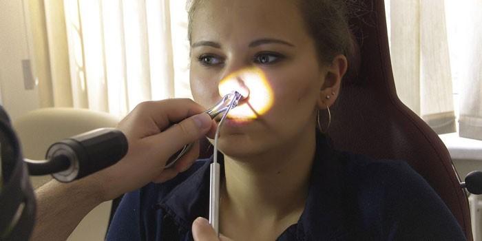 Радиоволновая дезинтеграция нижних носовых раковин