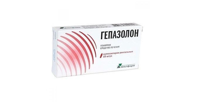Препарат Гепазолон